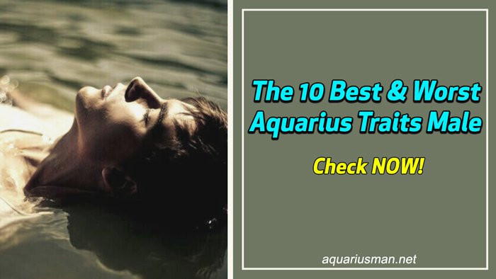 Aquarius Traits Male