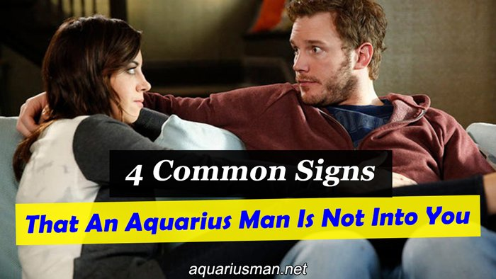 aquarius man does not have interest in me