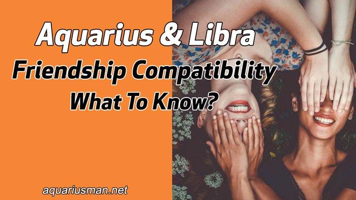 aquarius and libra in a friendship