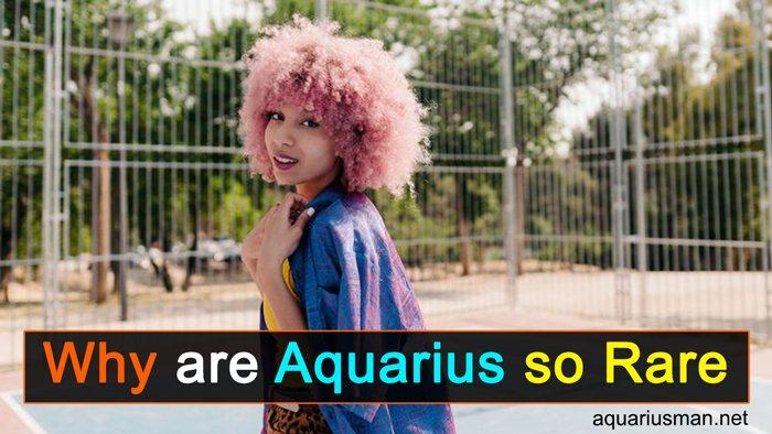 Why are Aquarius so Rare