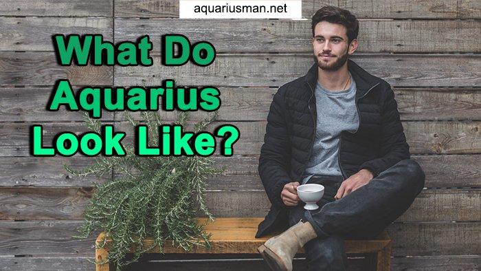 aquarius man appearance